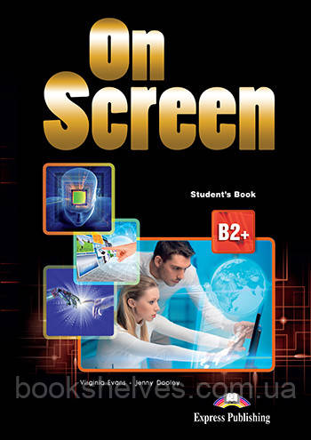 On Screen B2+ Student's Book Pack 3 Revised With Writing Book
