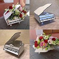 Ящик для цветов и декора, Рояль кракелюр