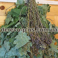 Венік  для сауни з  травами Дуб червоний  (по 20шт)
