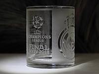Чашка с гравировкой Лига Чемпионов