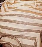 Детская красивая футболка удлиненная Блестящая Полоска серебро и золото, фото 3