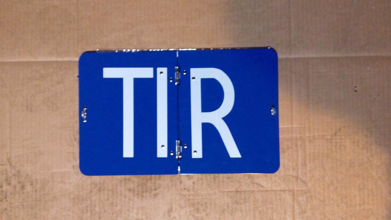 Знак TIR складывающийся