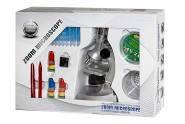 Микроскоп пластиковый со светом, 3 спектра мощности 75-150, 400-600 и 900-1200 раз