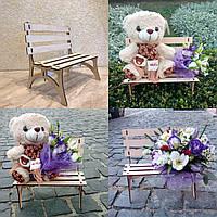 Ящик для цветов и декора, Скамейка