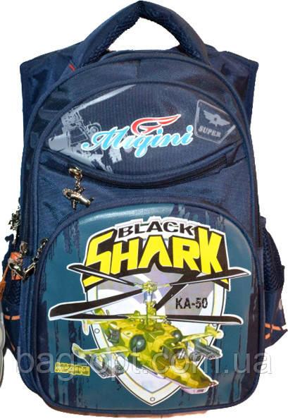77596c5252c8 Школьный рюкзак для мальчика синий (40*29*17) (shark): продажа, цена ...