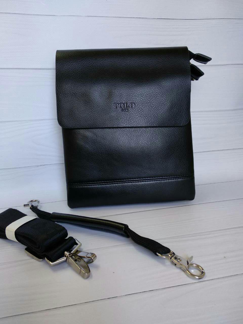 019e7cf32a5d Кожаная сумка для мужчин с надписью и плечевым ремнем - Цена 425 грн ...