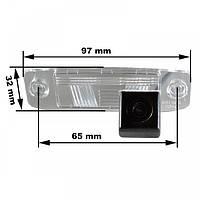 Штатная камера заднего вида Prime-X CA-9537. Hyundai Elantra 2006-2010/Accent 2006-2010/Tucson 2004-2010