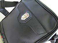 Cтильная сумка планшет через плечо барсетка спортивная сумка