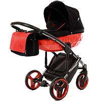 Детская коляска 2 в 1 Tako Junama Diamond Red