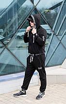 """Мужской трикотажный спортивный костюм """"EA7"""" с карманами и капюшоном (2 цвета), фото 2"""