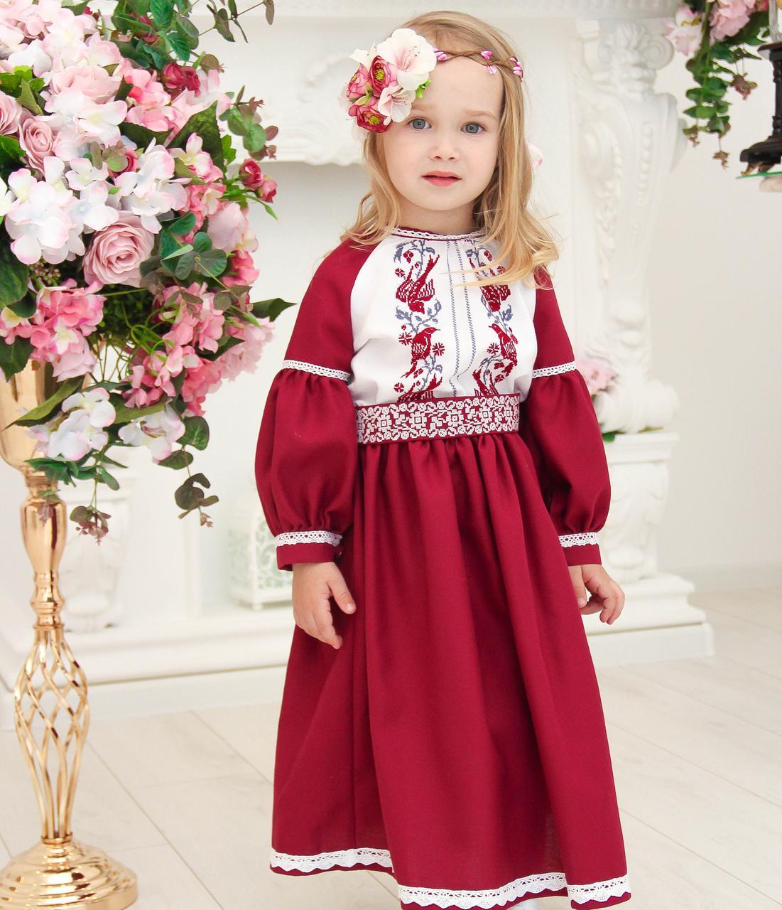 61ede08c3debeb Плаття вишите Мацьопа (2-4 роки, домоткане полотно): продажа, цена в ...