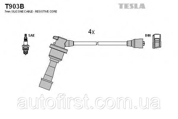 Tesla T903B Высоковольтные провода Mitsubishi