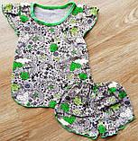Летняя детская пижама для девочки ЛЕТНЯЯ, фото 3