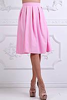 Юбка женская №147 в складку розовая