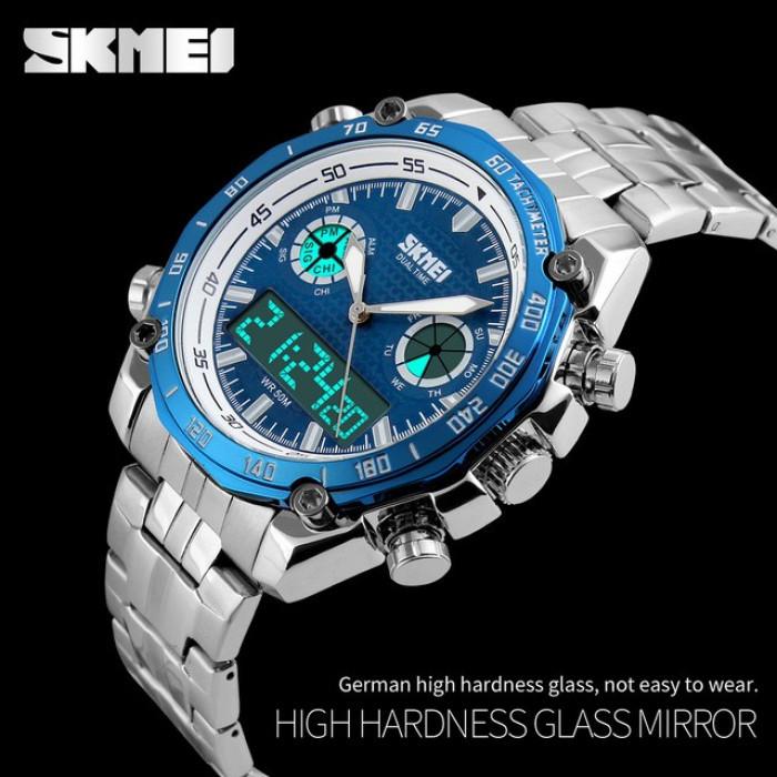 1d84b070 Мужские наручные часы SKMEI 1204 blue - интернет- магазин