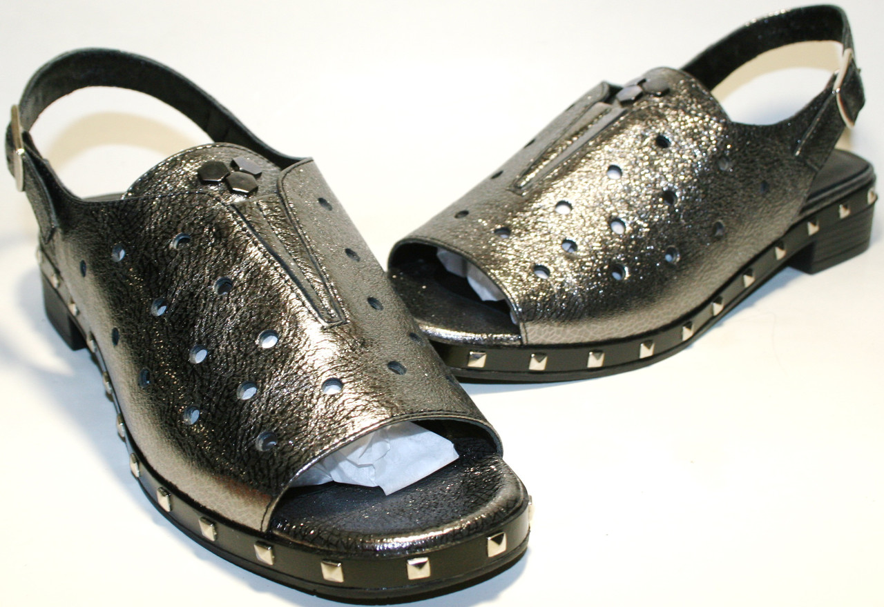 Босоножки на низком каблуке Marani Magli 801 152 от
