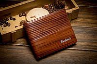 Мужское портмоне Fuerdanni, классического стиля, коричневого цвета, фото 1