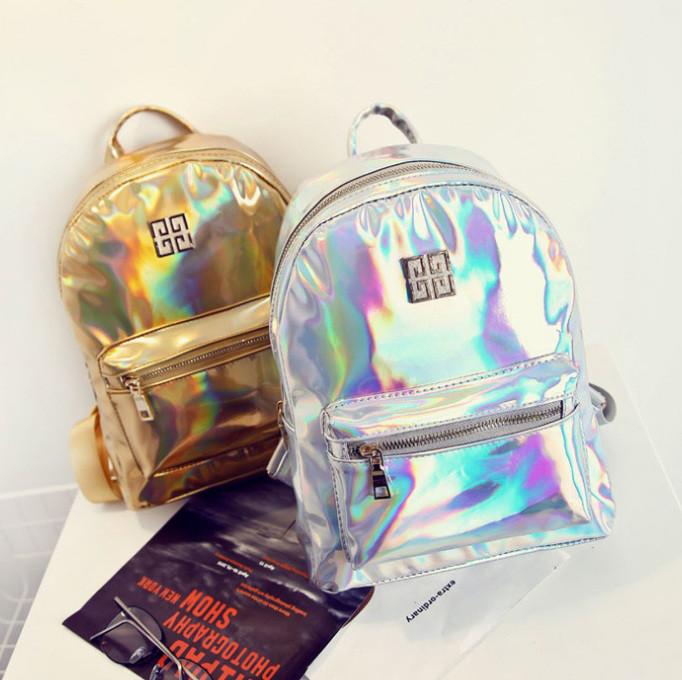 7080414d428e Блестящий женский рюкзак, цена 399 грн., купить в Днепре — Prom.ua ...