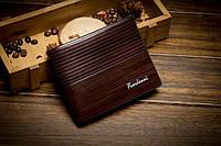 Мужское портмоне  Fuerdanni,  классического стиля, темно-коричневого цвета, фото 1