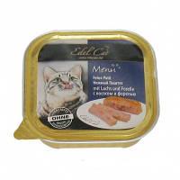 Консервы Edel Cat для котов лосось и форель 0,1 кг
