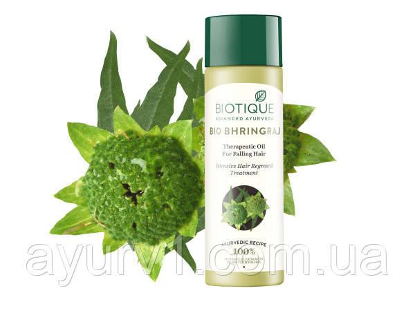 Масло для роста волос с брингараджем / Bio Bhringraj Biotique (Биотик), 100 мл.