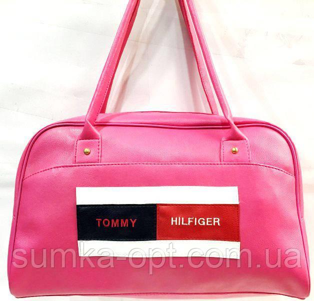 Универсальные сумки КОЖВИНИЛ THilfiger (розовый)26*42