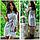 Женское платье-рубашка из льна, фото 2