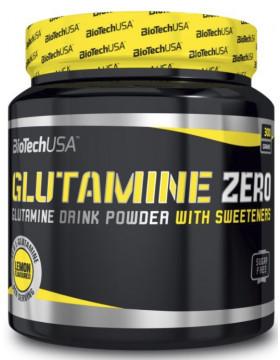 Глутамин BioTech USA Glutamine Zero 600g