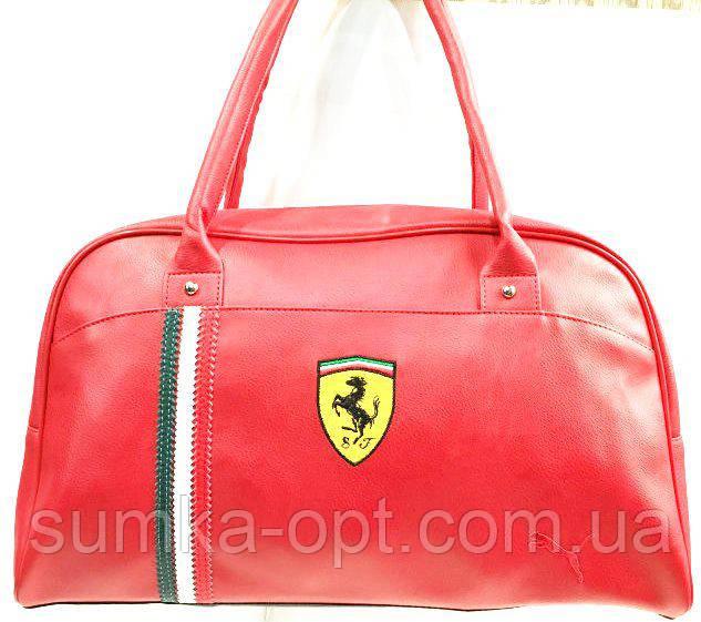 Универсальные сумки КОЖВИНИЛ Ferrari (красный)26*42