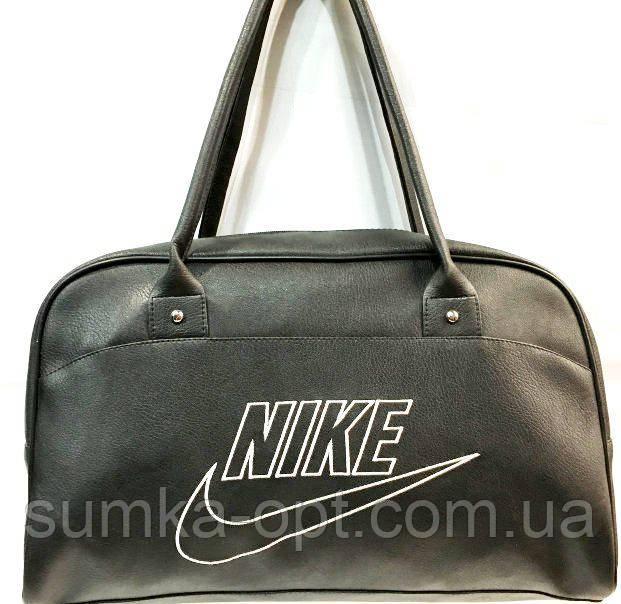 Универсальные сумки КОЖВИНИЛ Nike (черный)26*42