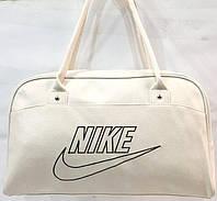 Универсальные сумки КОЖВИНИЛ Nike (белый)26*42, фото 1