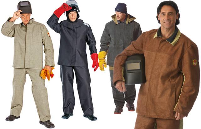 Одежда сварщиков и металлургов