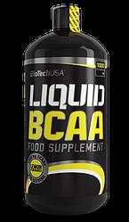 Аминокислоты BioTech Liquid BCAA 1000 ml