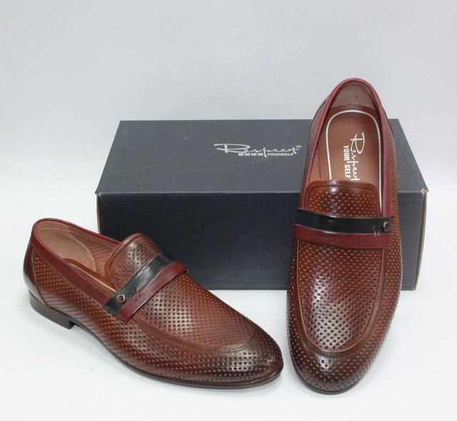 a76ca4fcbeb1 Мужские летние перфорированные туфли Respect натуральная кожа 43 ...