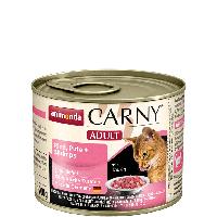 """Консервы Carny Adult """"С говядиной, индейкой и креветками"""" 11,5/6,5 (для взрослых кошек), 200г"""