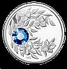 Кулон-Монета с кристаллом ко Дню Рождения ~ Королевский монетный двор Канады