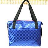 Стьобані сумки оптом Chanel (кава)28*33, фото 4