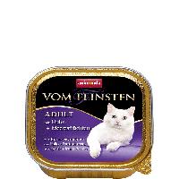 """Консервы Vom Feinsten """"С курицей и морепродуктами"""" 11,5/4,7 (для взрослых котов и кошек), 100г"""
