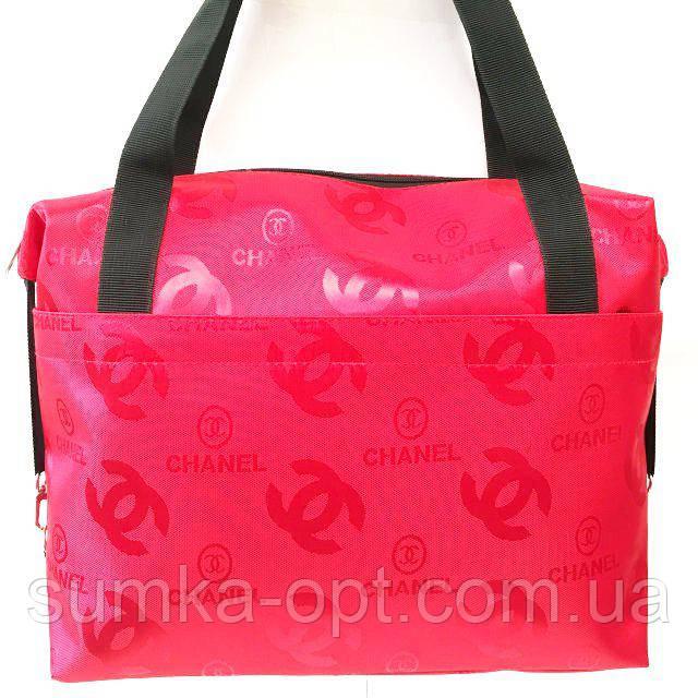 Стеганные сумки оптом Chanel (красный)28*33