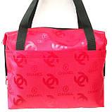 Стьобані сумки оптом Chanel (кава)28*33, фото 2