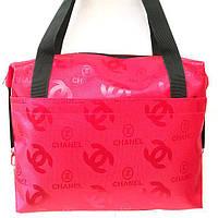 Стеганные сумки оптом Chanel (красный)28*33, фото 1