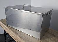 Коптильня большая двухярусная из черного метала 610х310х310 | Решетки из нержавейки