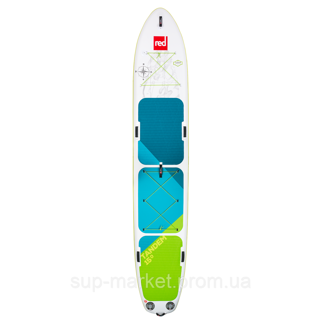 SUP доска Red Paddle Co Tandem, 15'0'', 2018