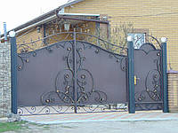 Ковані ворота В-55