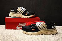 Мужские кроссовки Off-White Nike Air Presto-Текстильная сетка+подошва пена р:41-44 Фабр.Вьетнам Топ качество!, фото 1