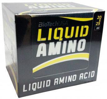 Аминокислоты BioTech Liquid Amino 20х25 ml