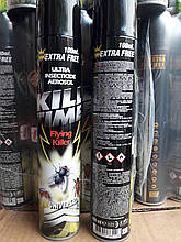 Дихлофос   без запаха универсальный KILL TIME  Кил тайм 400 мл