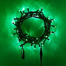 Гірлянда НИТКА 10 м, колір зелений