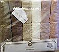 "Махровое полотенце Lux Cotton ""Clara"" 70*140 Philippus 6 шт./уп.,Турция 836, фото 4"