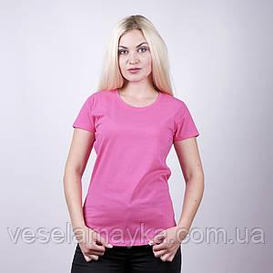 Малиновая женская футболка (Комфорт)